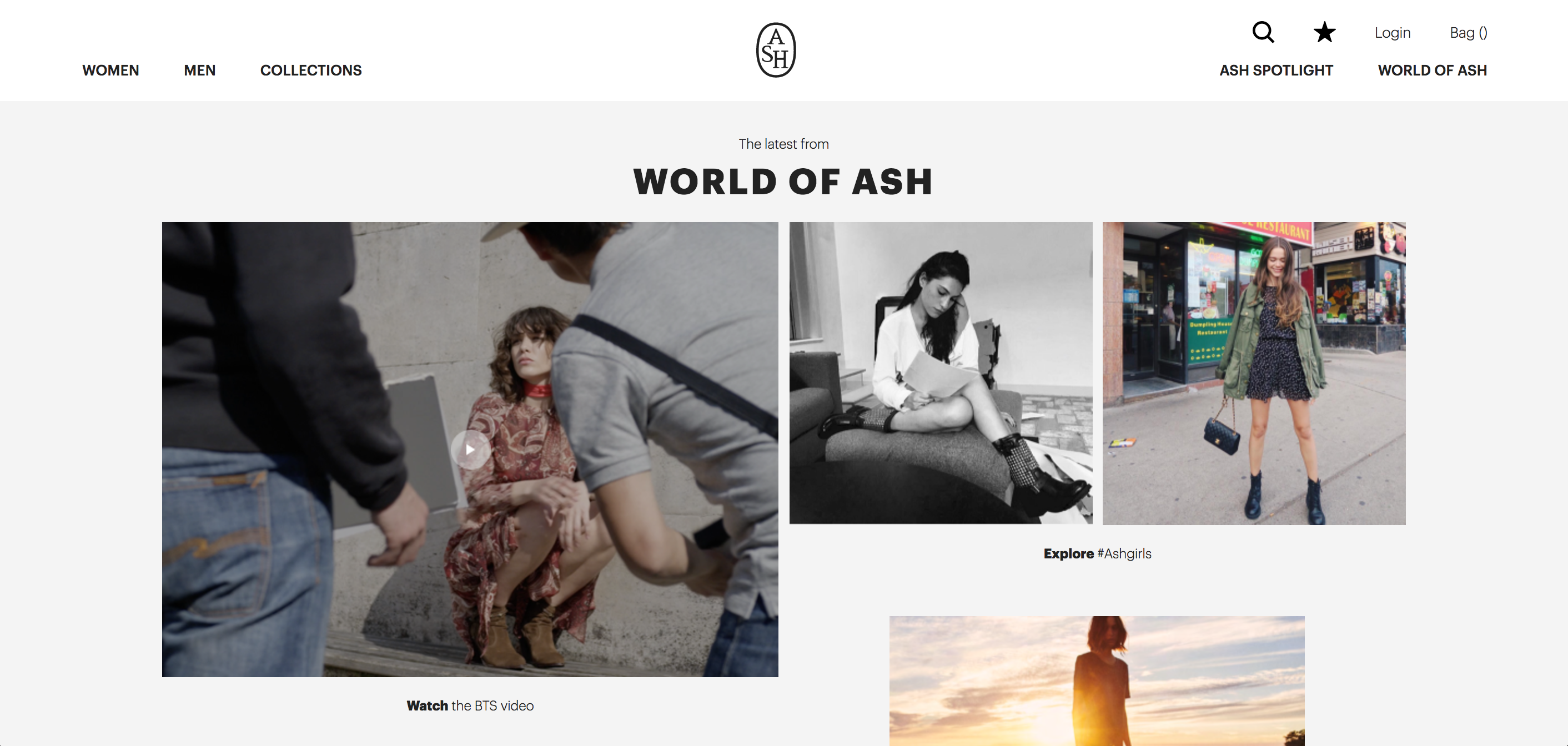ASH项目官网及H5